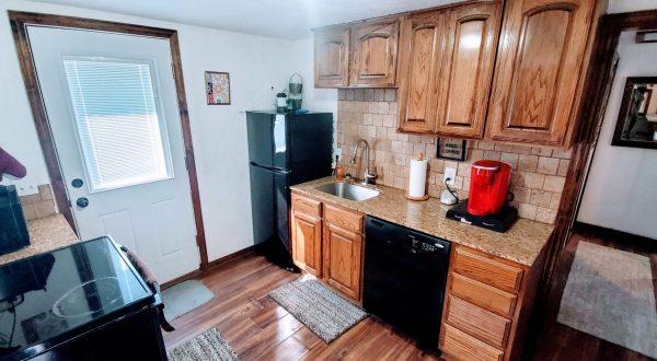 Red Cabin Kitchen