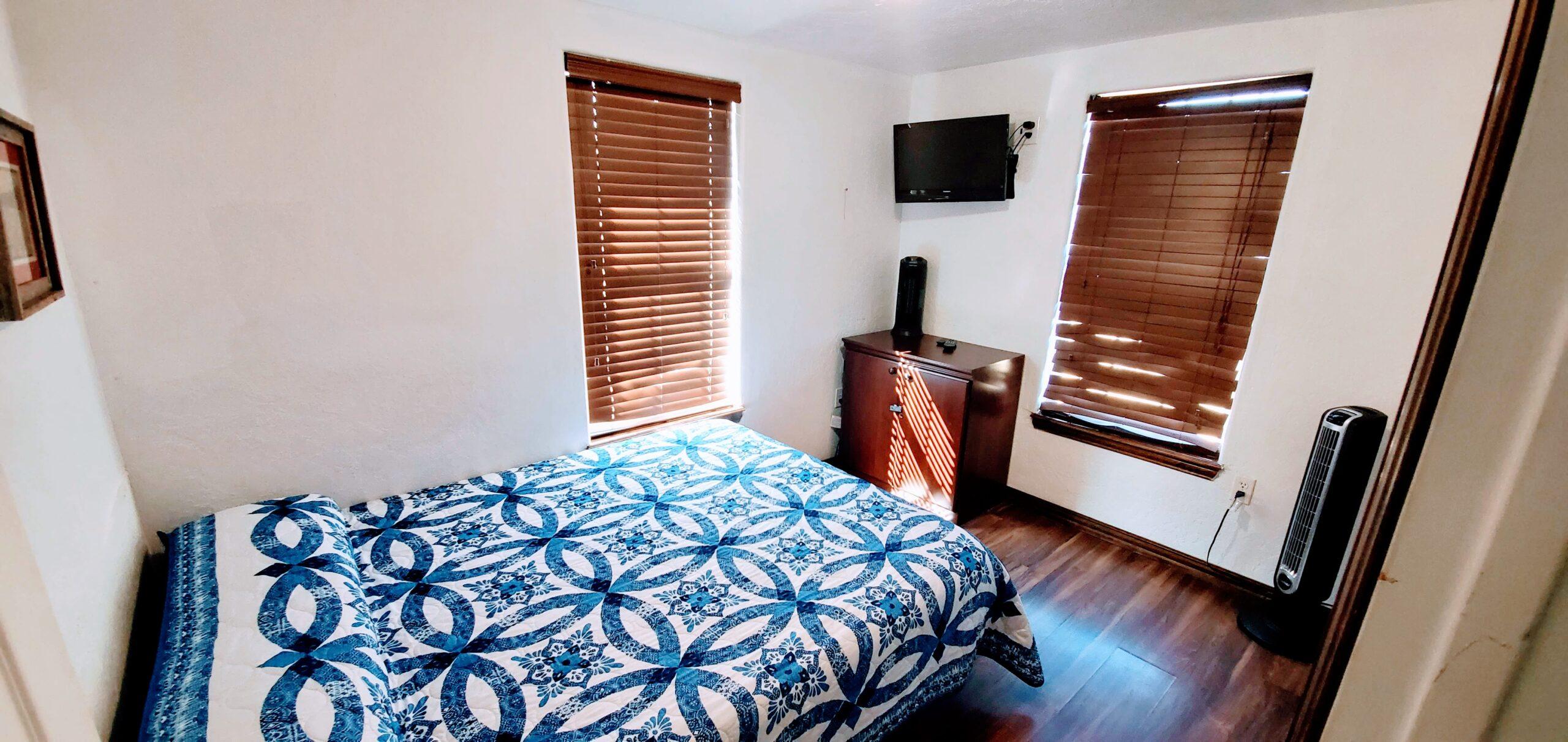 Red Cabin Bedroom